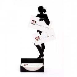 NAKED WOMAN business card holder Artori Design