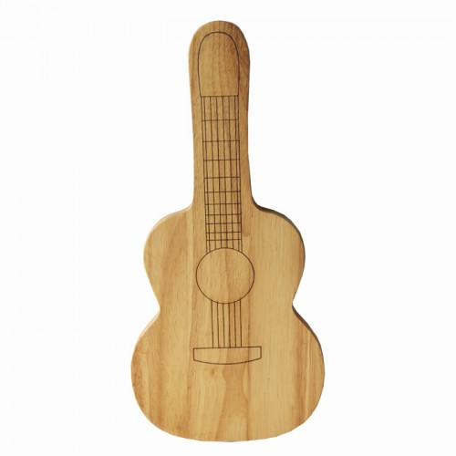 Wooden Chopping Board Guitar