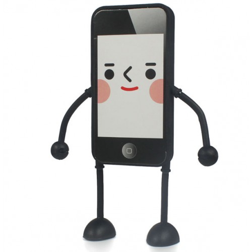 Stylish 3D Silicone Case for I-Phone Appitoz