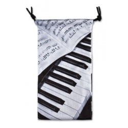 Glasses case PIANO/SHEET Music Vienna World