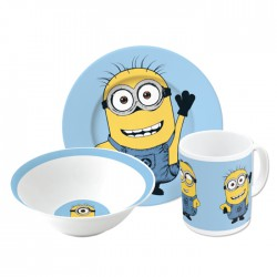 Despicable Me Snack Set Plate, Bowl & Mug