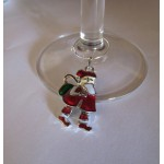Enamel CHRISTMAS Wine Glass Charms