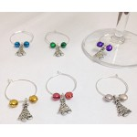 CHRISTMAS TREE Wine Glass Charms