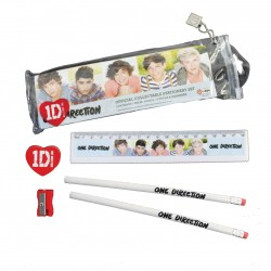 One Direction Stationery Set 5 Head Shots
