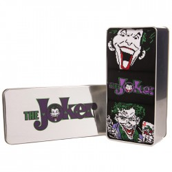 Batman THE JOKER 3 pack of socks in gift tin
