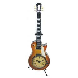VINTAGE Clock Sunburst Guitar on stand