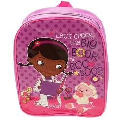 Disney Doc Mcstuffins Plain Value Backpack