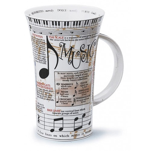 Dunoon GLENCOE Mug Music