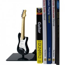 Guitar BOOKENDS Fender Black