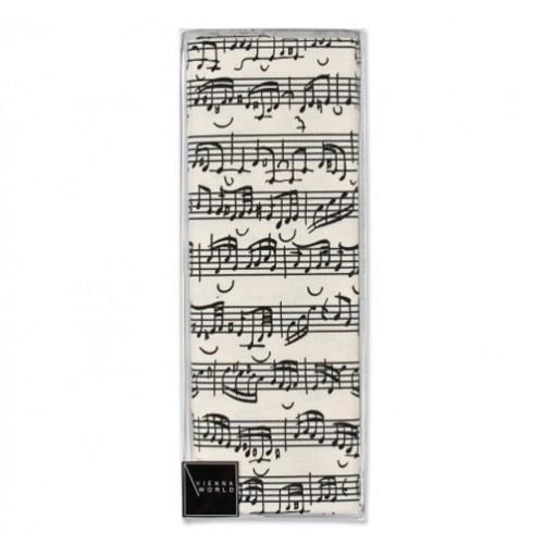Pillow cover Sheet music 40 x 40 cm Vienna World