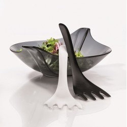 LEAF XL Salad Bowl w/Servers Koziol