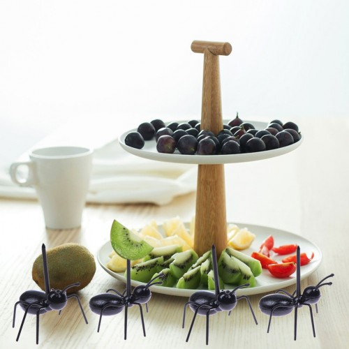 Ant Shaped Fruit Forks (12pcs)