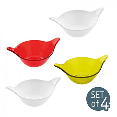 LEAF bowl XXS 40ml (set of 4) Koziol