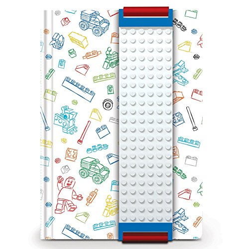 Lego A5 Building Band Journal White
