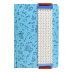 Lego A5 Building Band Journal Blue