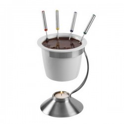 Chocolate Fondue set Leopold