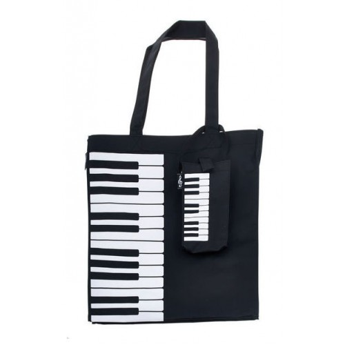Tote Bag Nylon Keyboard/Piano Design