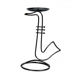 Candle Holder Saxophone Design 18cm
