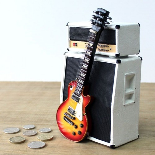 Money Box Amp & Guitar Vintage