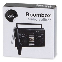 Balvi Boombox Audio Splitter Note Nabber