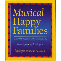 Music Games Happy Families Quartet
