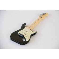 Wall Art Guitar Black