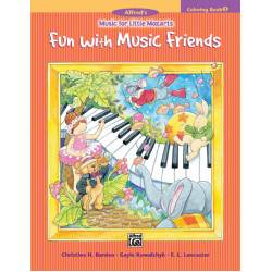 Music For Little Mozarts Colouring Book 1