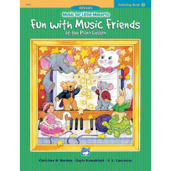 Music For Little Mozarts Colouring Book 2
