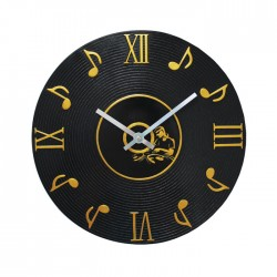Wall Clock Music Notes