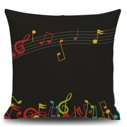 NOTES Pillow (dark blue)