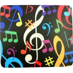 Mouse Mat Music Note Square