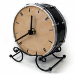 Mantle Clock DRUM Design