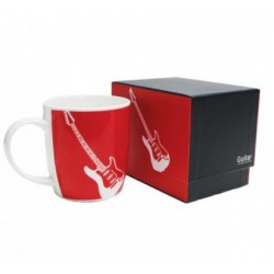 Electric Guitar Boxed Mug Red