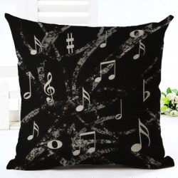 MUSICAL NOTES Pillow