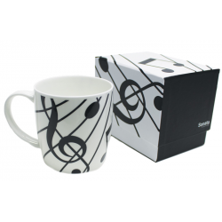 Sonata Boxed Mug White
