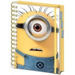 Minions A5 Project Book Shocked Minion