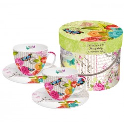 Love Letter CAPPUCCINO Cup Set Gift Boxed PPD