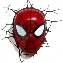 Marvel Spider Man 3D Wall Light