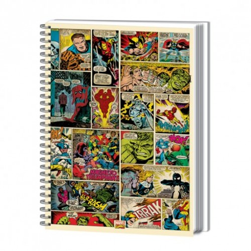 Marvel A4 Notebook COMIC STRIP