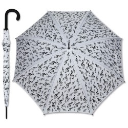 Umbrella G-clef white Vienna World