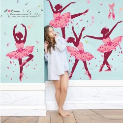 Ballerina Wall Stickers DIY