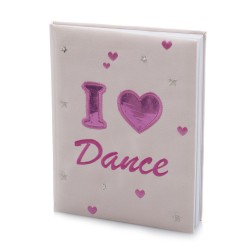 I LOVE DANCE Notebook
