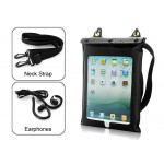 Waterproof Case & Earphones for Tablets