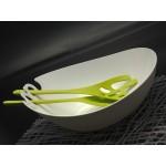 SHADOW Salad bowl w/ servers Koziol