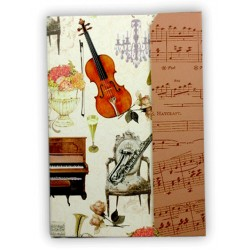 PORTOFOLIO Notebook Music Collection
