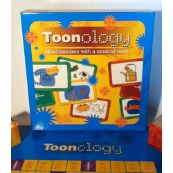 Music Games TOONOLOGY Board Game