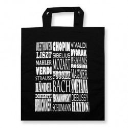 Tote bag COMPOSERS Vienna World